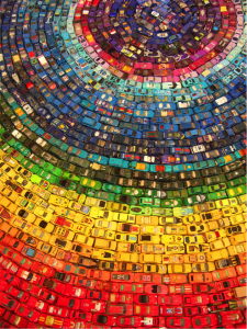 Toy Cars Mosaic