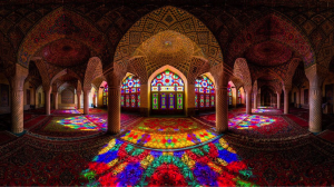 Persian Stained Glass Mosaics - Ethnic Mosaics - Mozaico Blog