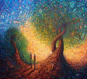 Visionary Mosaic Painting