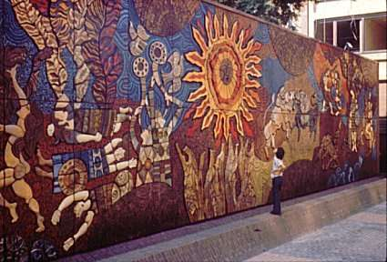 The most influential mosaic murals across the world for Mural mosaic