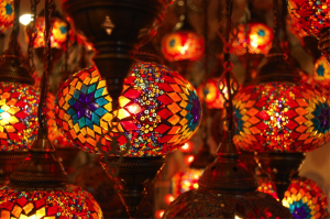 Turkish Mosaic Lantern - Turkish Mosaics - Ethnic Mosaics - Mozaico Blog
