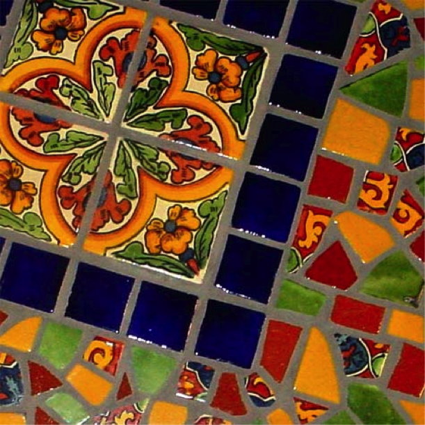 ... Mosaic Art Tiles; Mexican ...