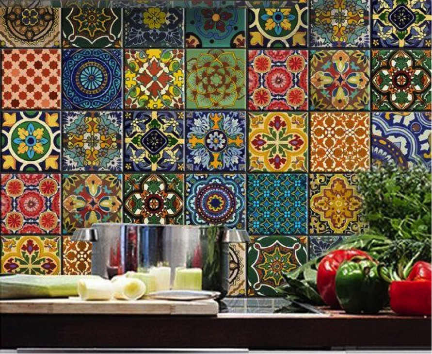 Unusual Kitchen Tiles