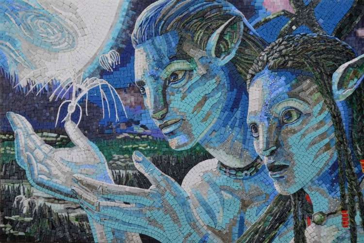 Avatar Mosaic Art