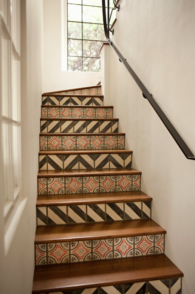 Lovely Mosaic Stairs