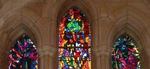 National Cathedral stained glass windows--Washington