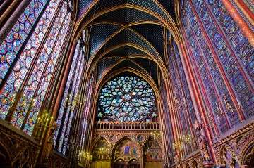 Sainte Chapelle in France