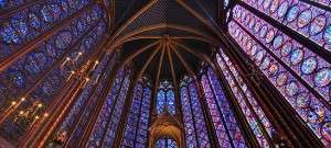Stained GlassSainte Chapelle in France