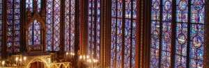 Sainte Chapelle in France Stained Glass