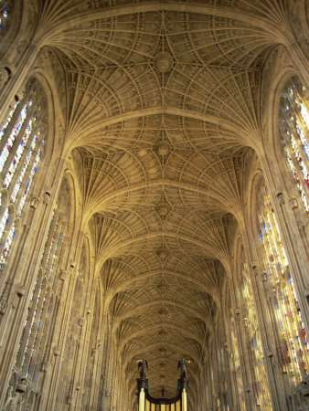 King's College Chapel, in Cambridge.