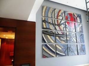 Mosaic wall art