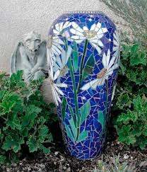 Flower vase mosaic ideas
