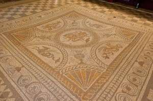 Mosaic Pavement Fishbourne