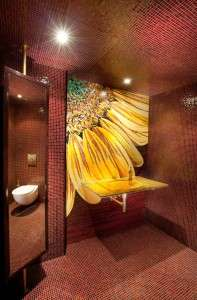 beautiful-bathroom-design-with-mosaic-backsplash-ideas-and-bathroom-mirror-also-bathroom-sink-with-faucet-and-ceiling-lighting