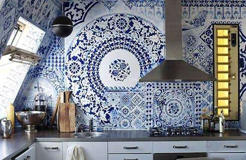 Modern Mosaic Backsplash