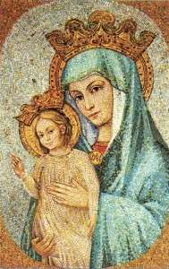 Master Ecclesiae Mother of the church  mosaic