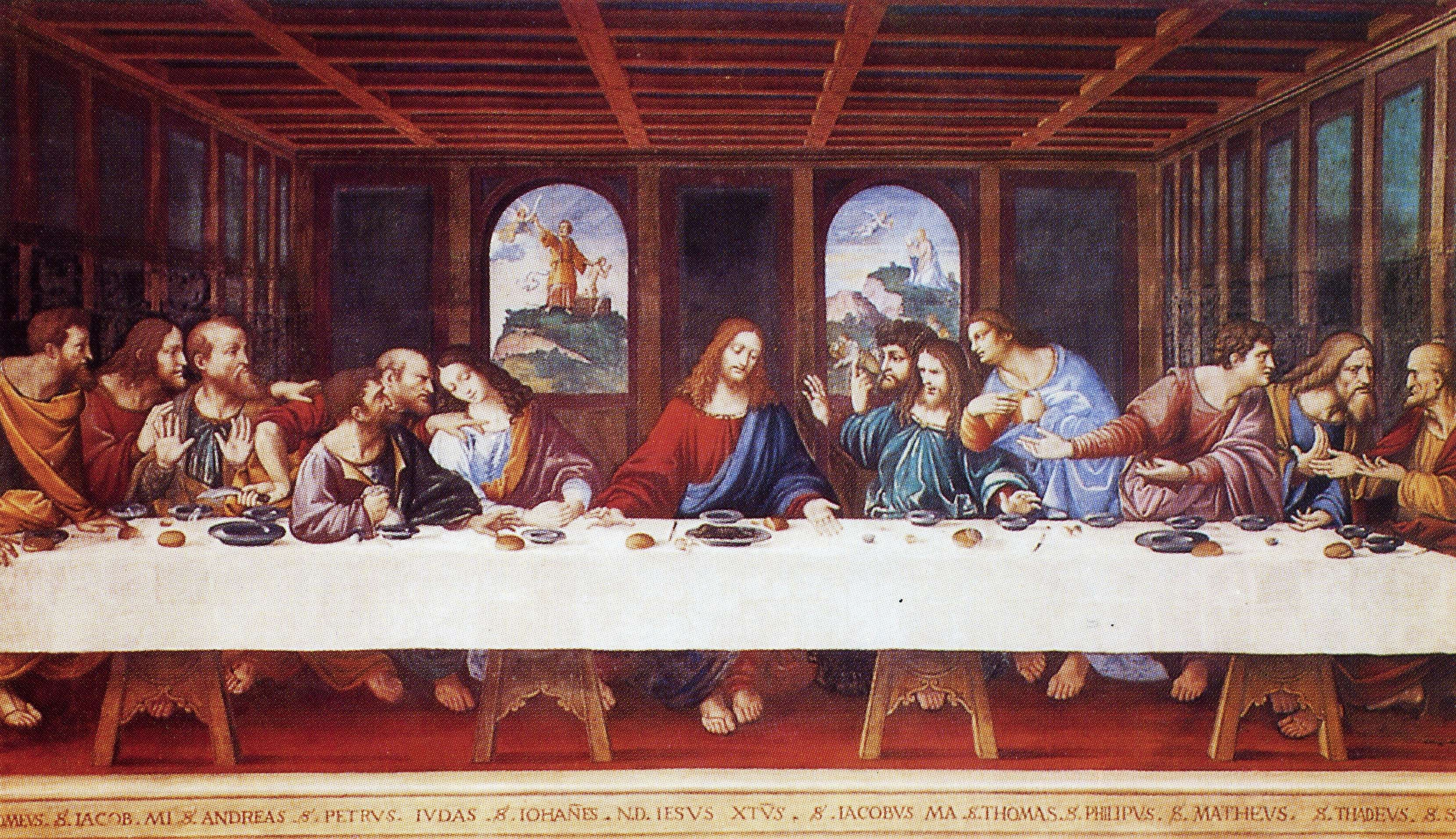 the last supper by leonardo da Book your skip-the-line tickets and guided tours of the last supper of leonardo da vinci in milan now admire one of the world's most famous masterpieces painted by.