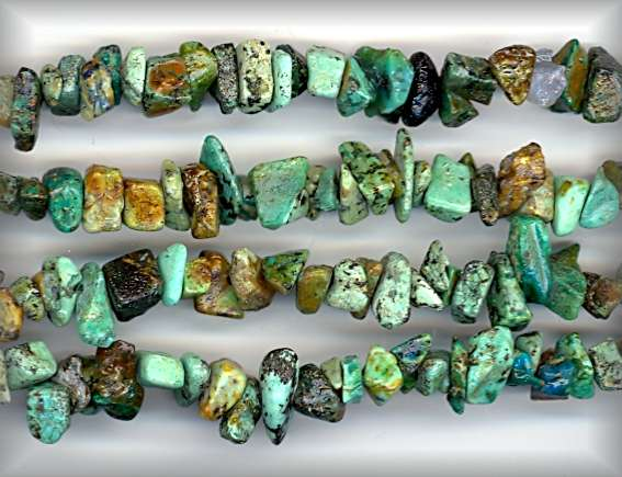 AFRICAN TURQUOISE CHIPS