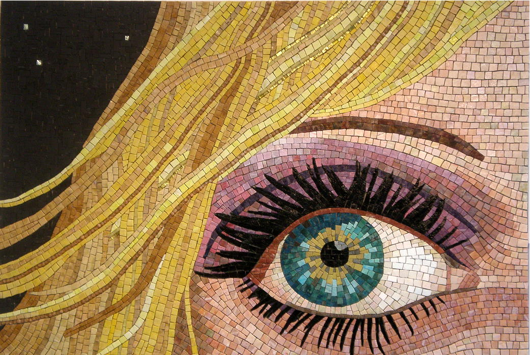 Top 10 marble mosaic artworks of the week mozaico blog for Drawing mosaic pictures