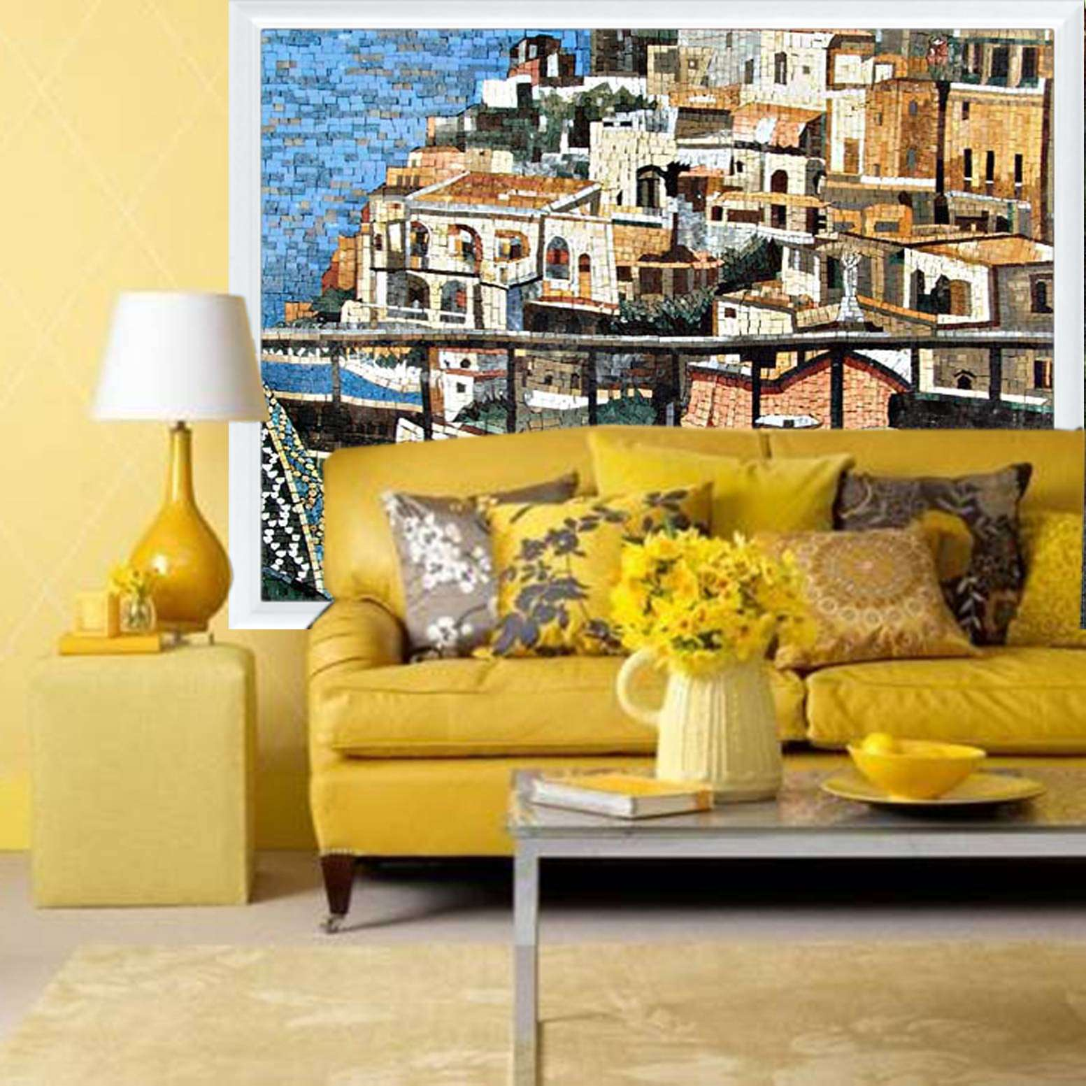 Yellow rooms decor 2017