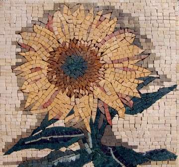 sunflower-accent-mosaic