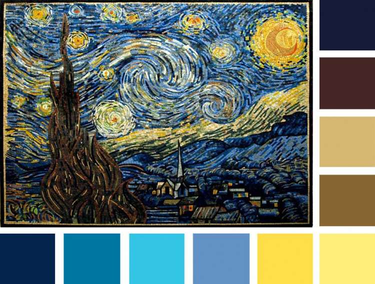 Starry-Night-Mosaic
