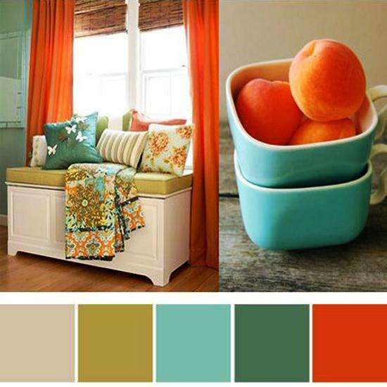 Interior modern colors