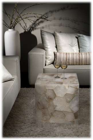 Bring The Earth Element Into Your Living Space By Adding A Touch Of Natural Crystallisation This Petite Table Isexemplary Composedof Smoky Quartz