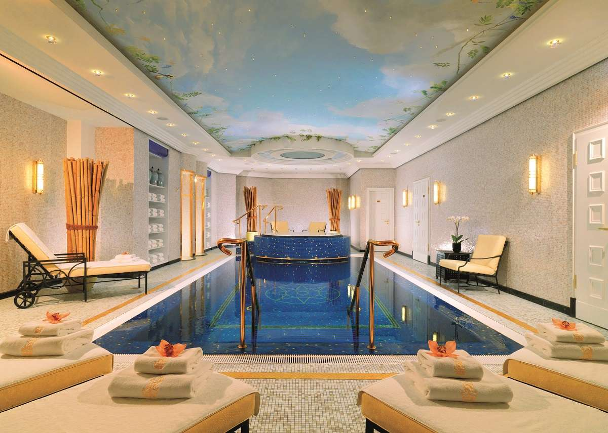 Nautical mosaics the ambience generators mozaico blog - Hotels in bath with swimming pool ...