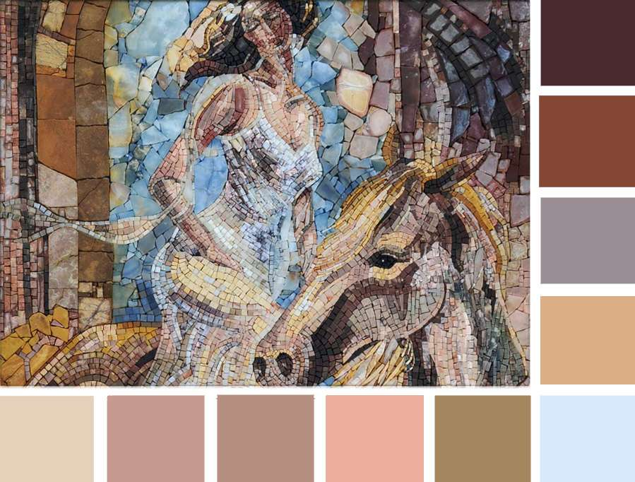 From Drab to Delightful: Zen Color Palette - Mozaico Blog