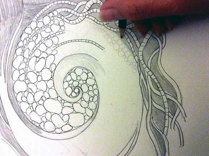 1-drawing-whirlwind-mosaic-in-progress