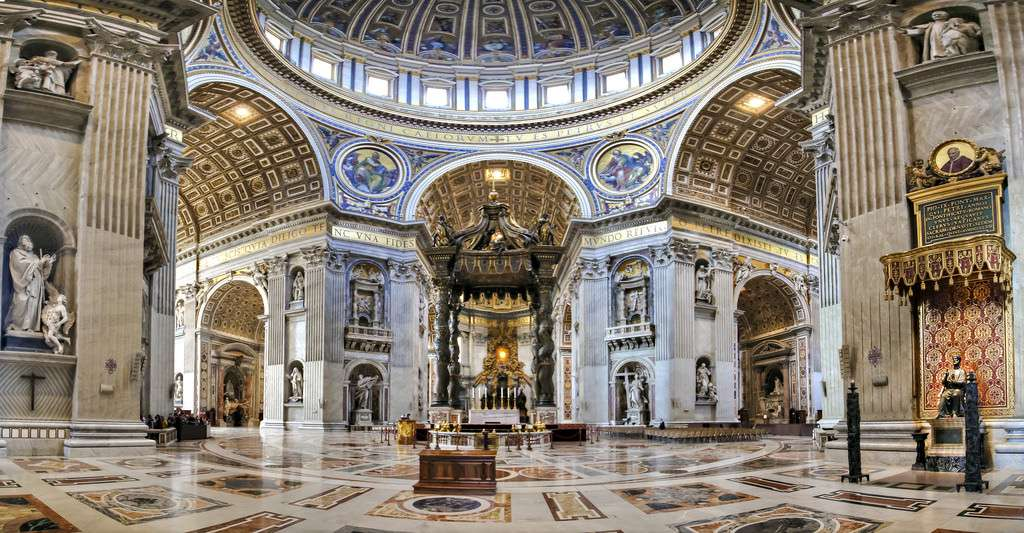 st-peters-basilica-inside