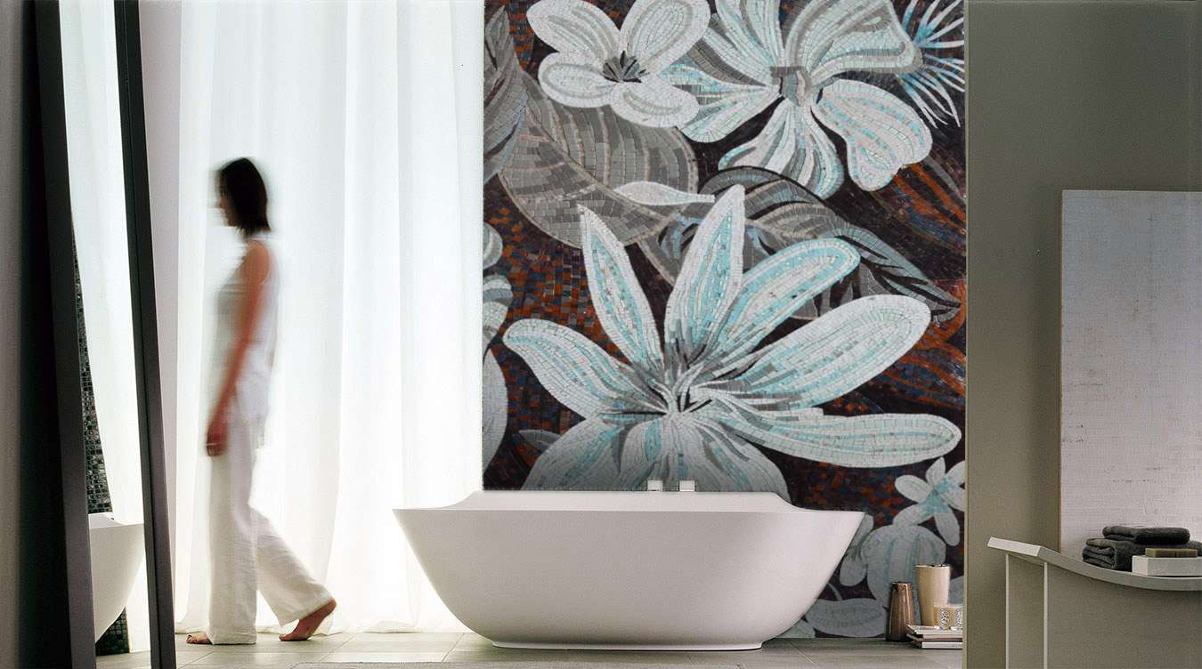 mosaic-art-bathroom-florals