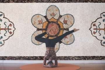 Mosaic-decor-yoga-studio