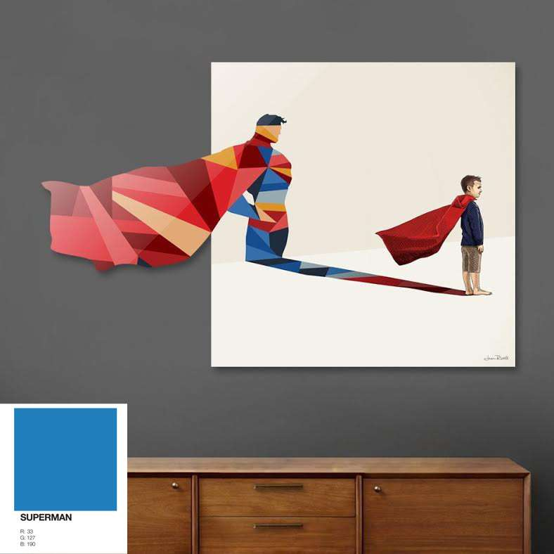 superman-wall-art