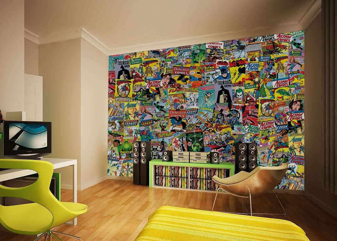 comic-book-wall-art
