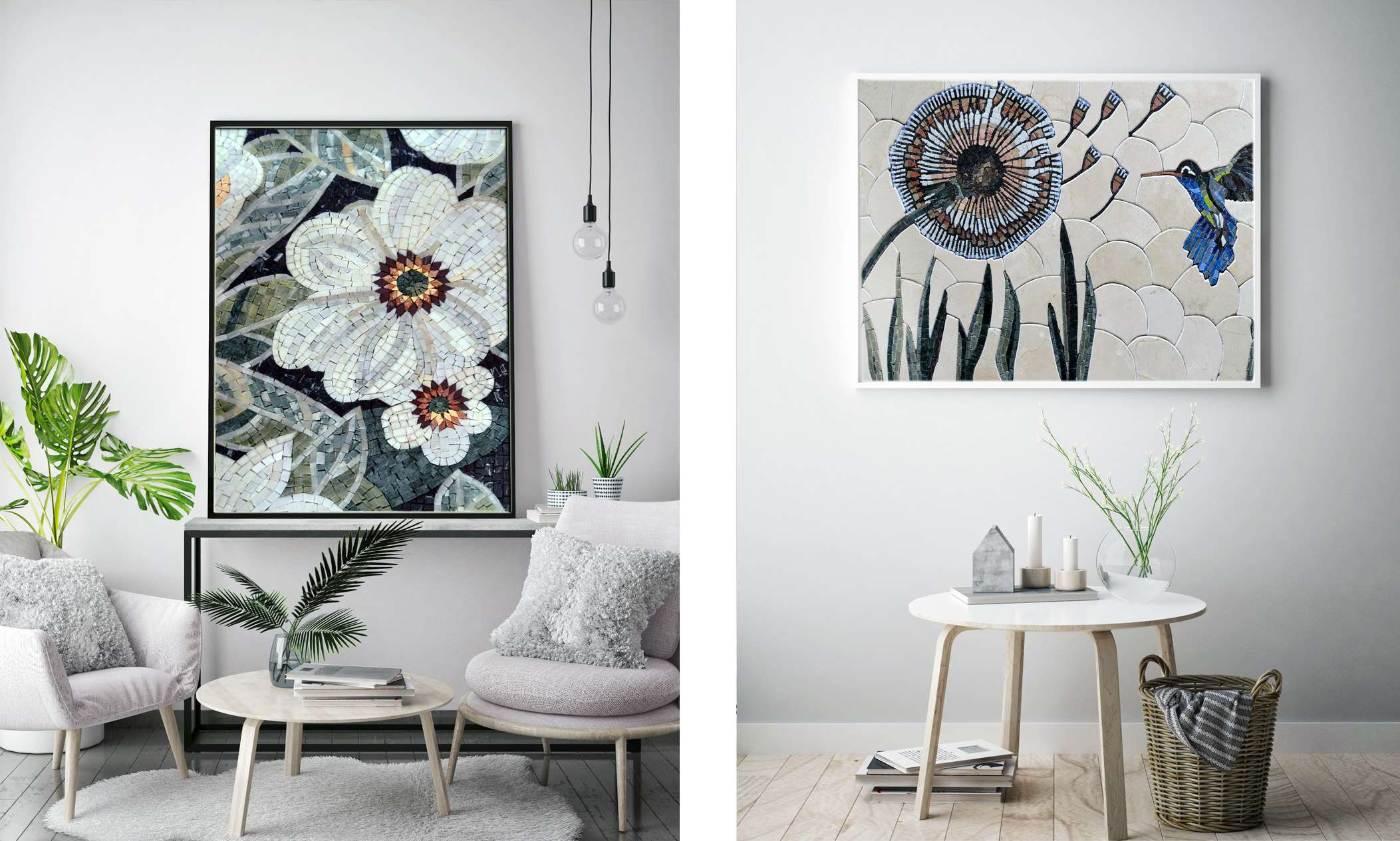 Mosaic-Decor-Nature-Inspired