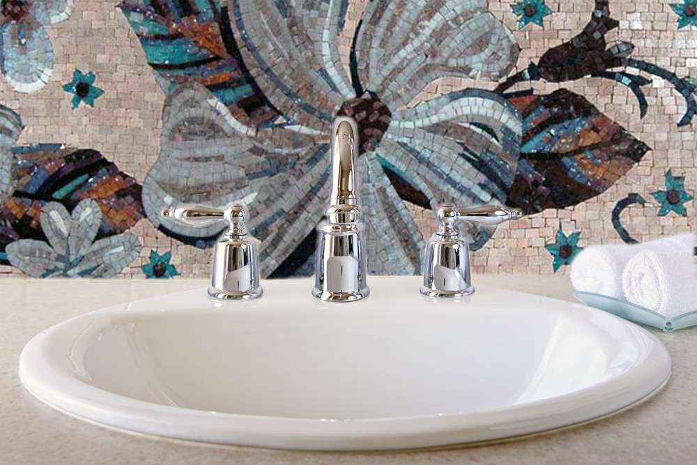 Bathroom-sink-mosaic