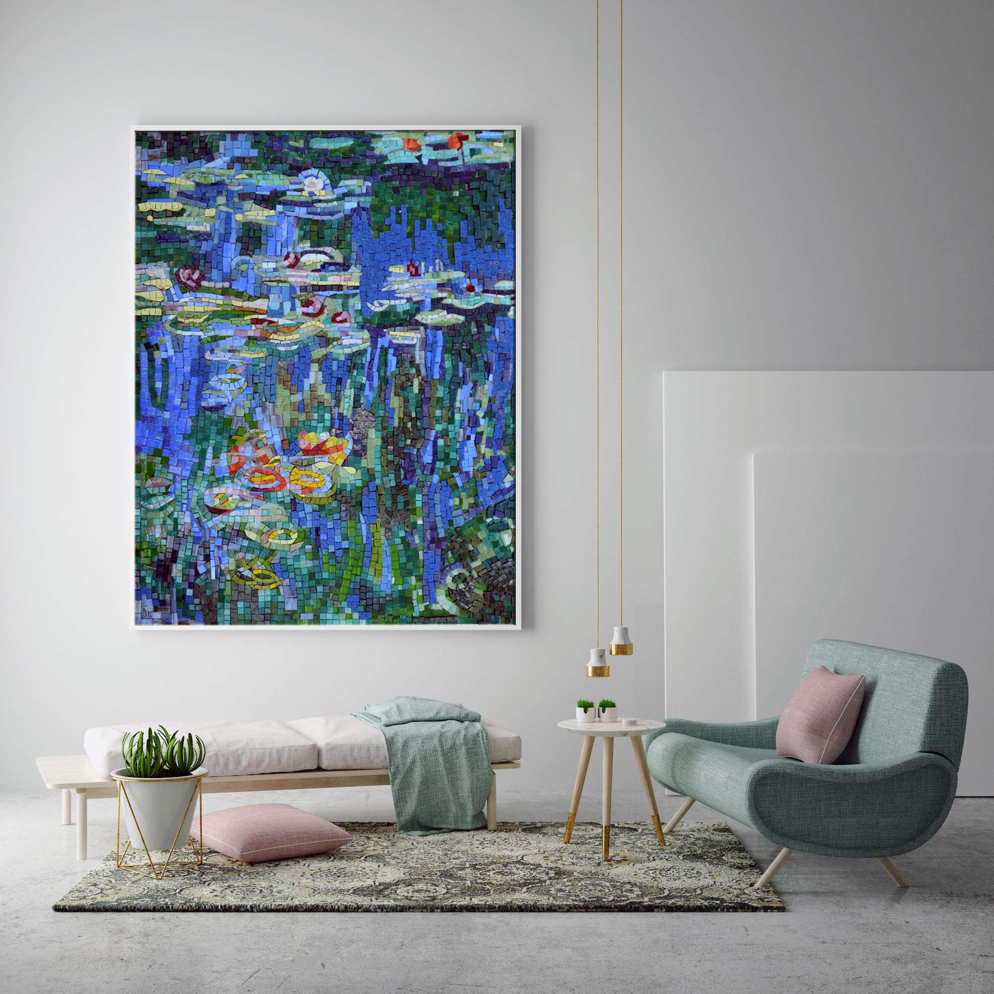 Abstract-Mosaic-Wall-art