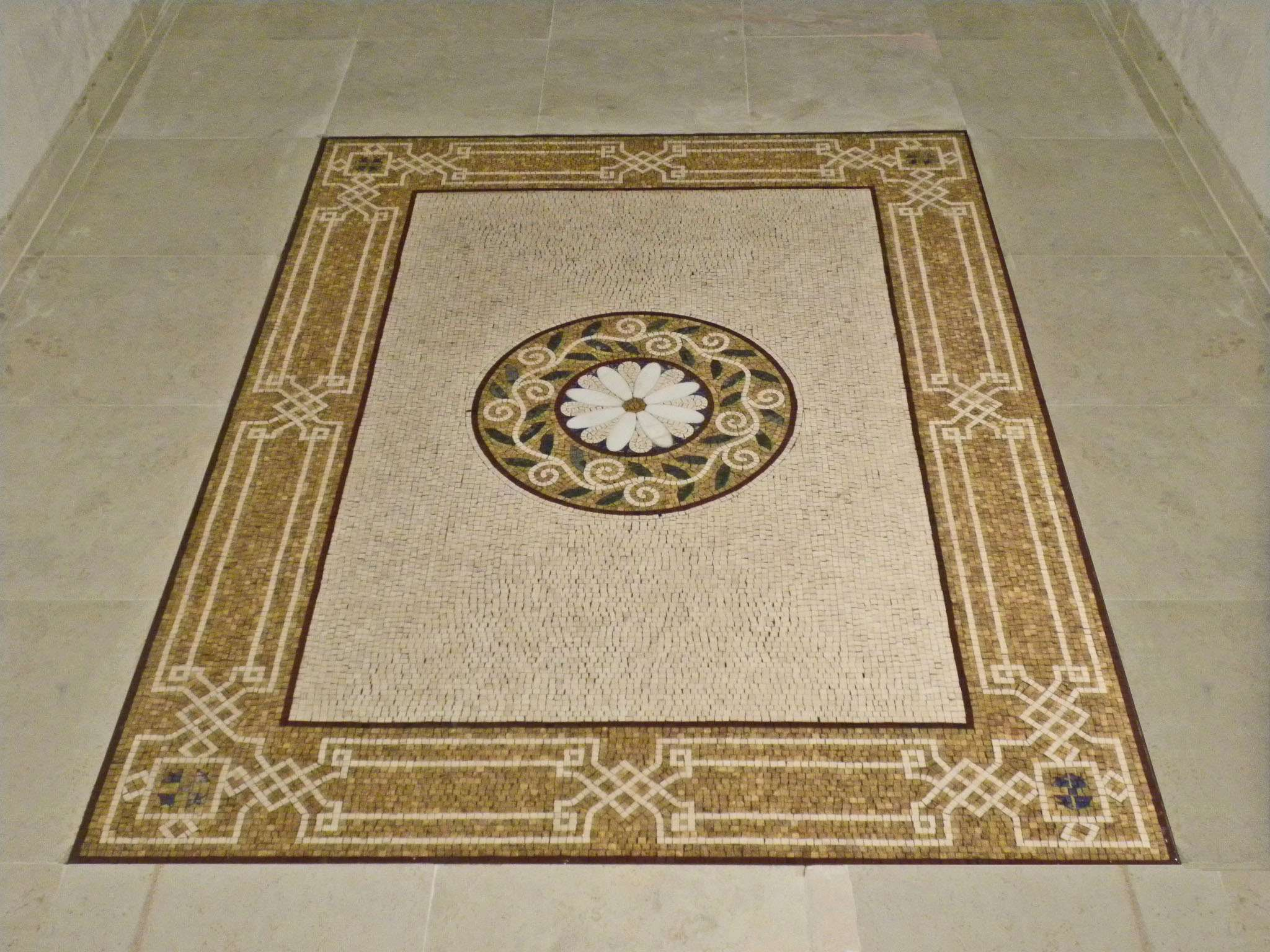 square-mosaic-rug-tile-floor