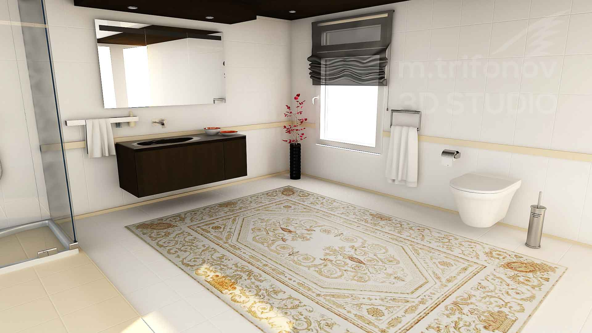 Beautify your home with a mosaic rug tile mozaico blog minimal mosaic rug tile dailygadgetfo Images