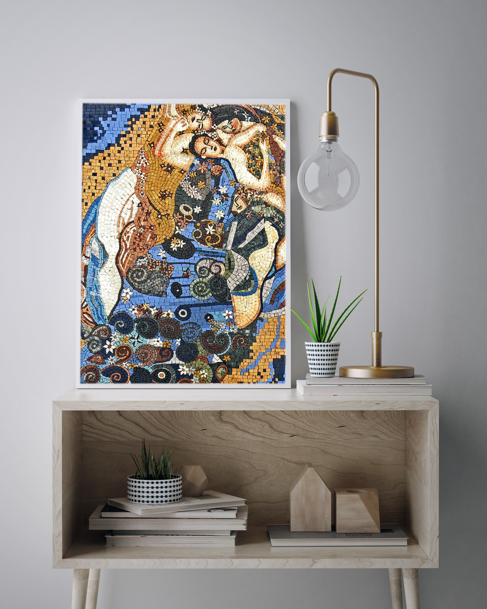 modern art for office. Mosaic Art: Home Office To Daydream About Modern Art For