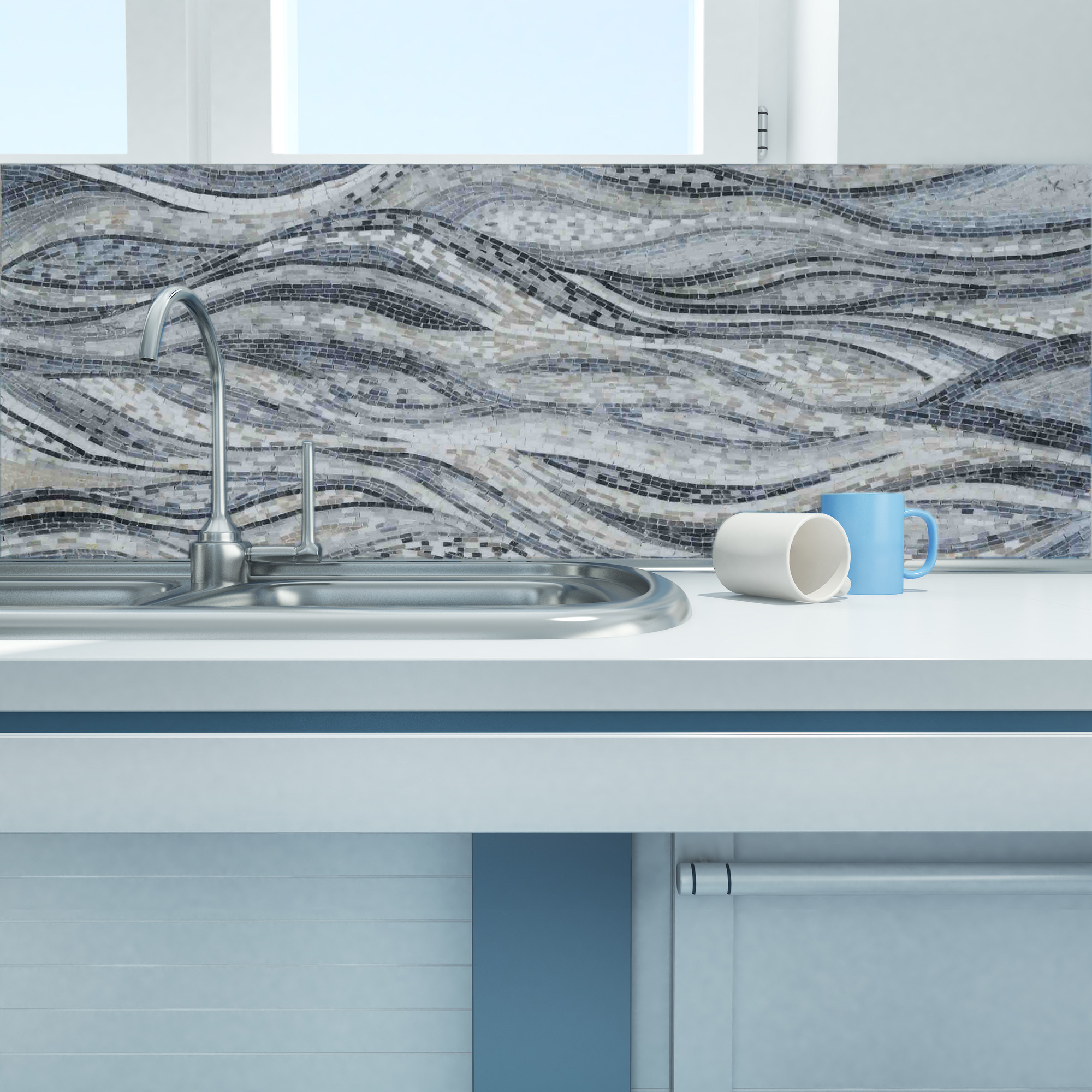 kitchen-mosaic-backsplash-minimal