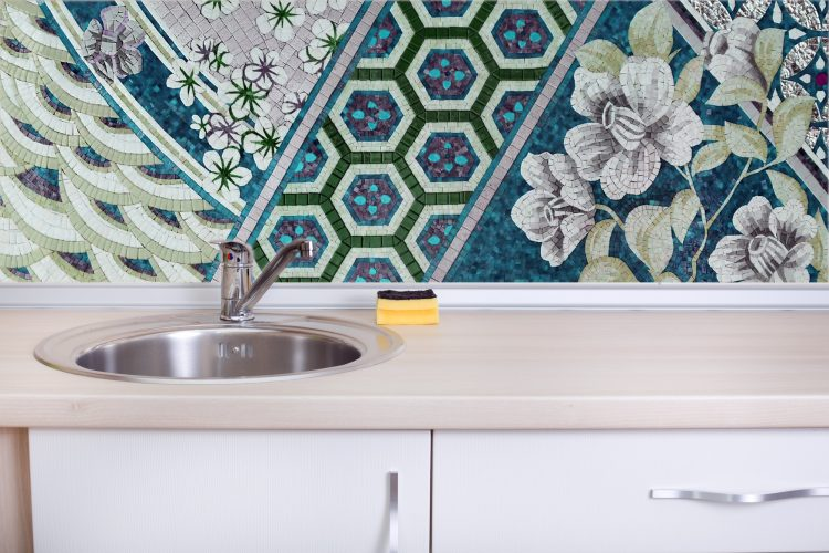 Mosaic KitchenBacksplash