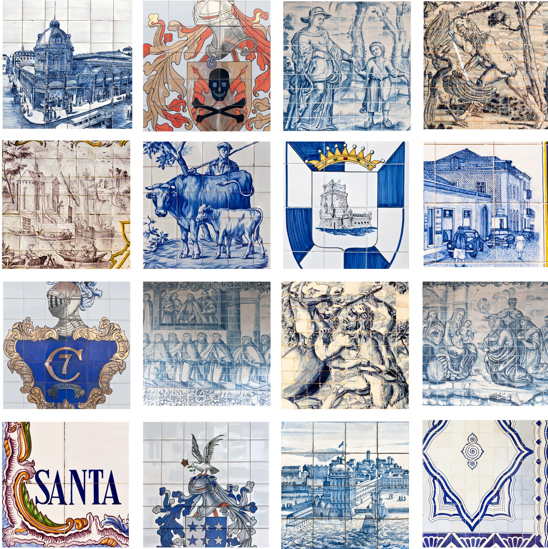 Portugal-Tile-Art-Mosaic