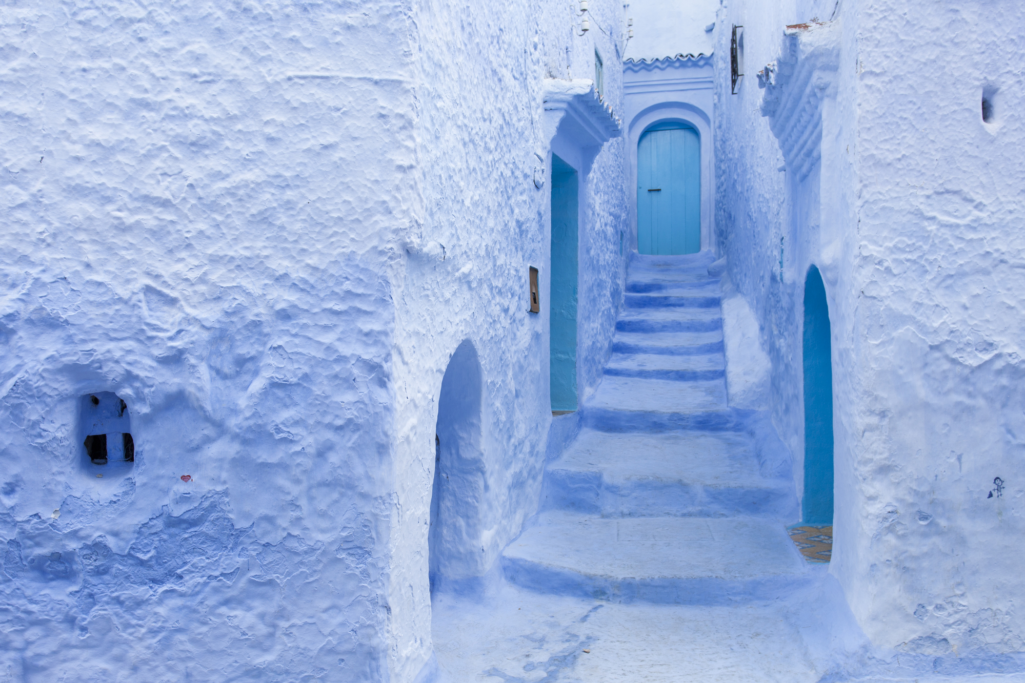 Chefchaouen-tile-art-city