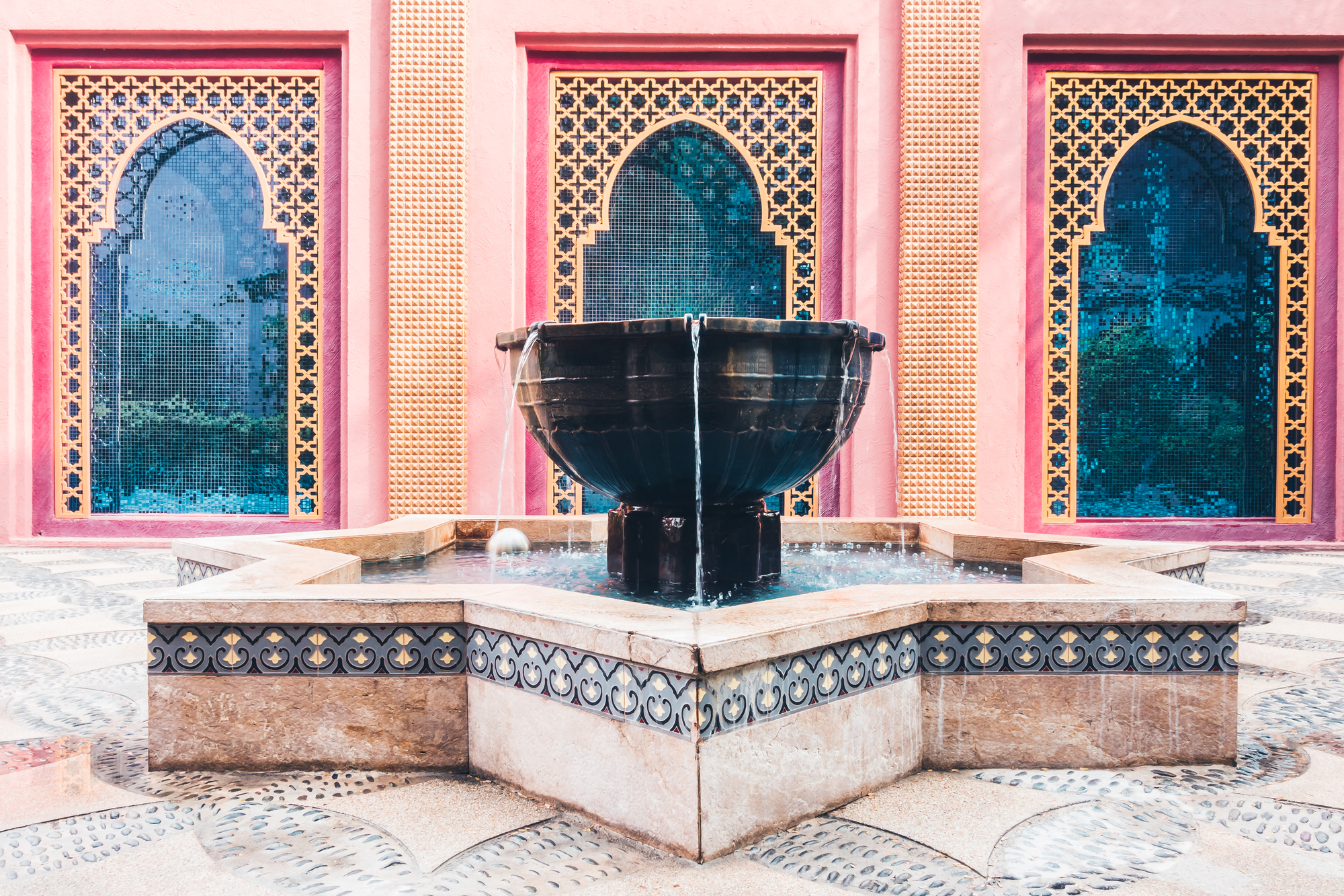 Fountain-Morocco-mosaic