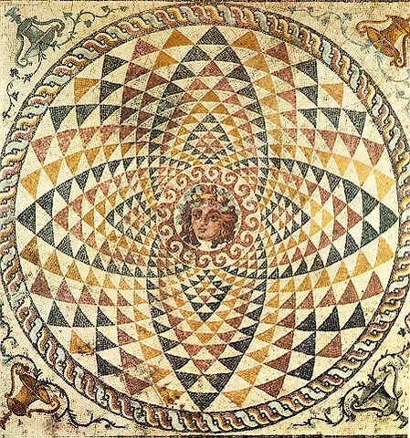 geometric-shapes-in-ancient-greek-mosaics