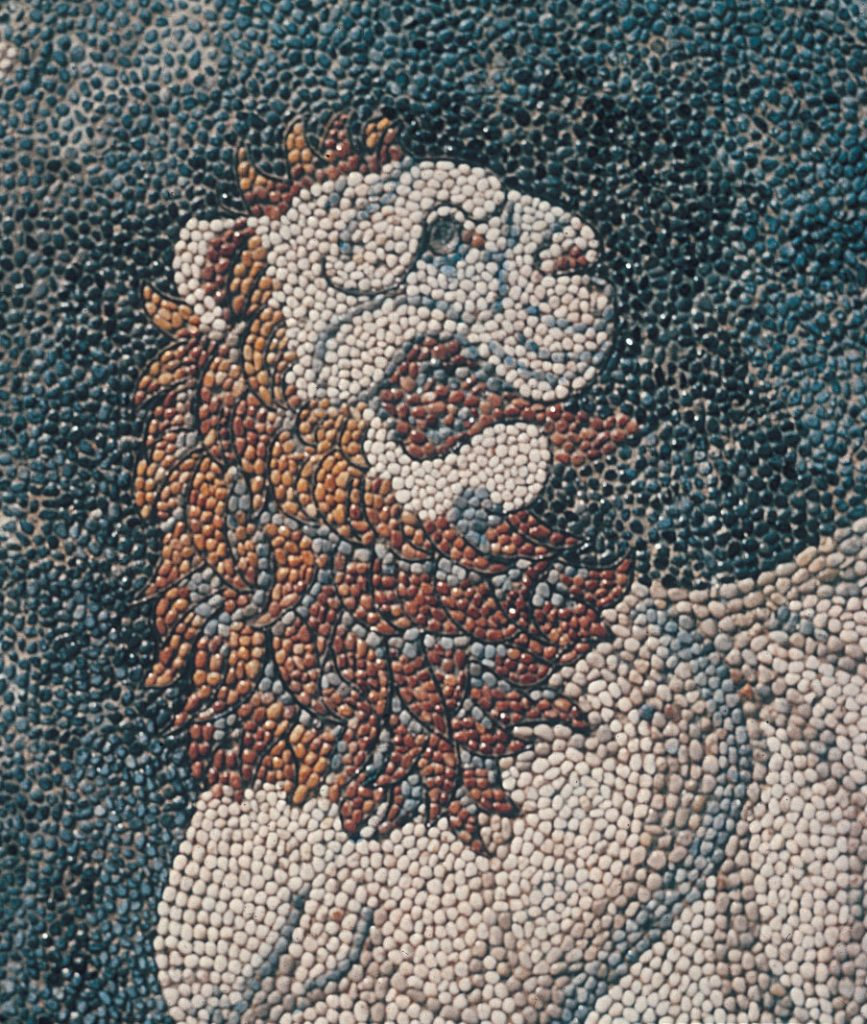 picture-of-lion-mosaic