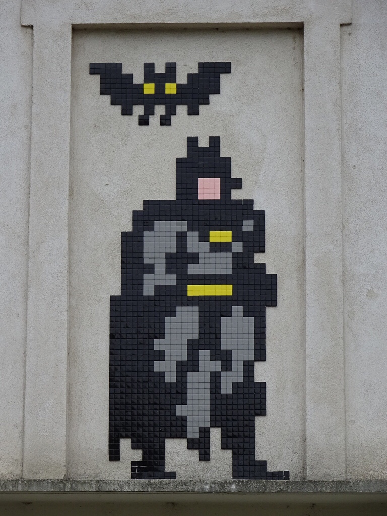 Batman-mosaic-by-invader